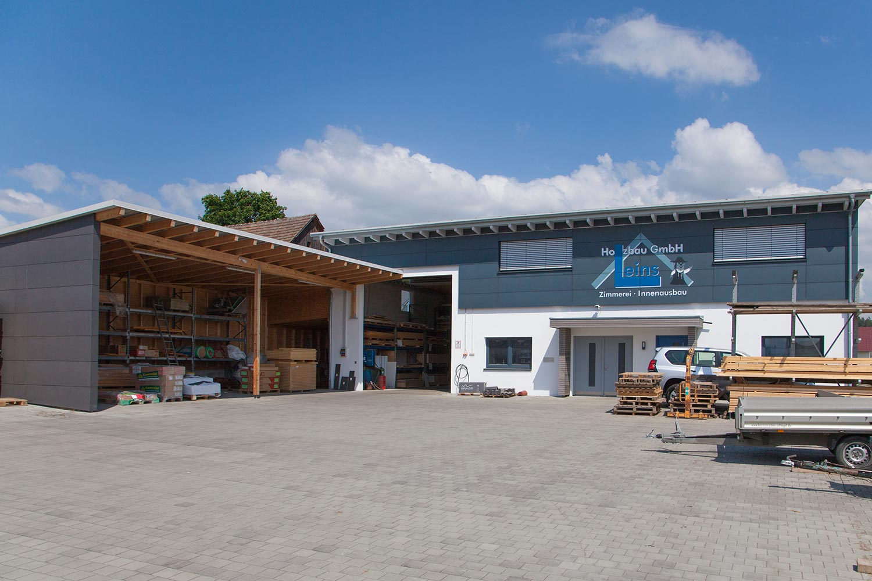 Leins Holzbau GmbH in Bietenhausen (Rangendingen). Zimmerei